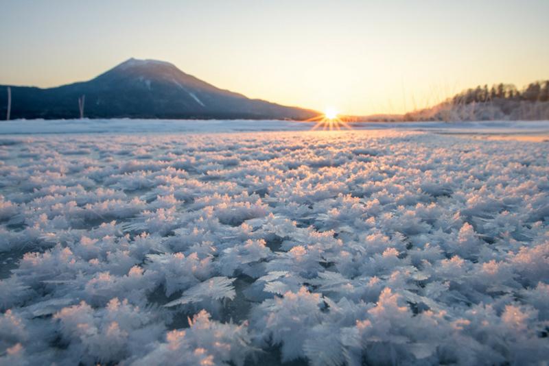 阿寒湖冬天
